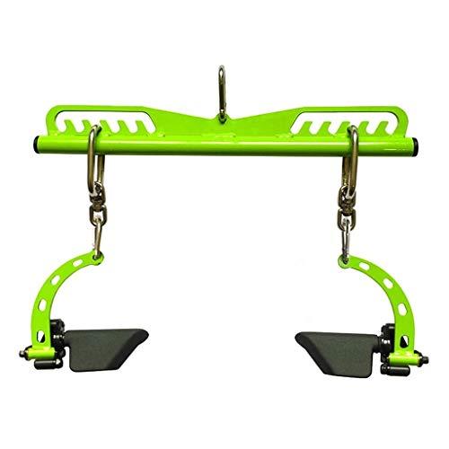 Latzug Bar Kabel Maschine Attachments Der Chest Griff Griff Gedreht Werden Kann Es Verwendet Do Brust Und Rückentraining Werden Kann Krafttraining (Color : Green, Size : A)