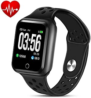 ZGPAX Fitness Tracker Smart Watch,Activity Tracker Waterproof Pedometer Wrist Watch with Step Counter Calorie Counter Heart Rate Monitor Sleep Monitor for Women Men Kids