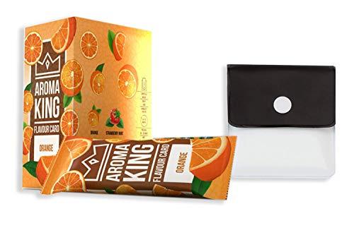 Aroma King - Set di 25 cartine aromatiche di alta qualità, arancione per un gusto indimenticabile...