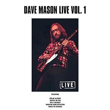Dave Mason Live Vol. 1 (Live)