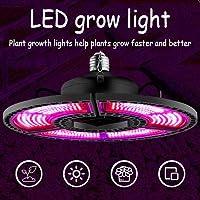E27フルスペクトル防水植物ライト、自動オン/オフ植物ランプ、折りたたみ式屋内植物成長ランプ、角度は自由に調整できます 432