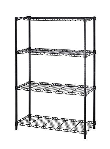 BestOffice 4 Tier Shelving Unit NSF Metal Large Storage Shelves Heavy Duty...