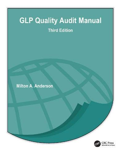 GLP Quality Audit Manual