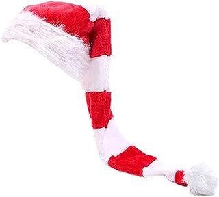 Świąteczny elf kapelusz Mikołaj długie paski filcowy kapelusz nowość czapka świąteczna i dla dorosłych dzieci Boże Narodze...