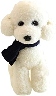 BRCTOYS Poodle Plush Toy Puppies Stuffed Animals Dogs with Scarf 9