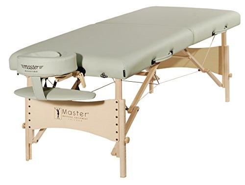 Master Massage 70cm Wide Lightweight Paradise Wood Portable Massage Table...