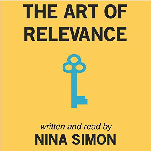 The Art of Relevance audiobook cover art