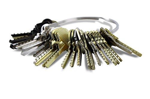 Kit de 48 llaves bumping Bump-Keys para cerraduras de serreta - España Num.3