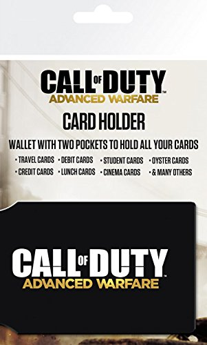 1art1 Call of Duty, Advanced Warfare, Sentinel Tarjeteros para Tarjetas De Crédito...