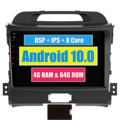 Roverone 9 Pollici Android 6.0 Octa Core autoradio autoradio GPS per KIA Sportage R 2011 - 2016 con navigazione radio stereo Bluetooth specchio Link Full touch screen