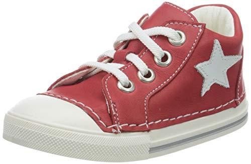 Däumling Unisex Kinder Esther Sneaker, Rot (Fortuna Fire 12), 19 EU