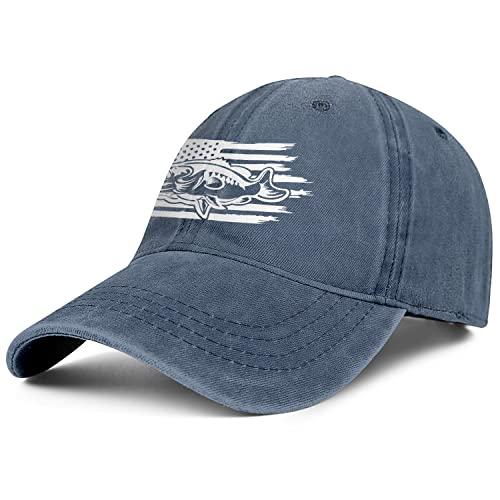 White Denim Dad Hats for Men Women-Novelty Summer Sun Cap Snapback Adjustable