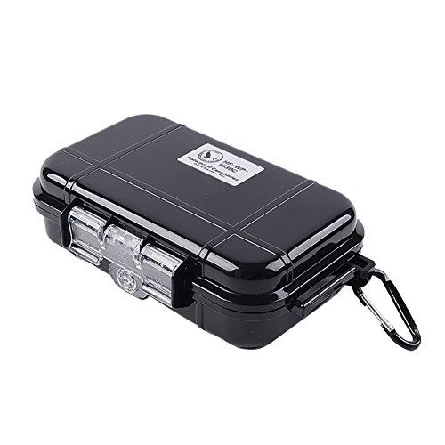 EFINNY EDC Caja de Cajas de Supervivencia Profesional IP67 Impermeable A Prueba de Humedad A Prueba de Golpes Anti presión Ajustable Organización Exterior Herramientas de Almacenamiento
