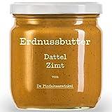 Die Leckerste Erdnussbutter in Acht Unwiderstehlichen Geschmäckern | Nachhaltige & 100% Natürliche Peanut Butter 420ml (Dattel Zimt). 2 Töpfe