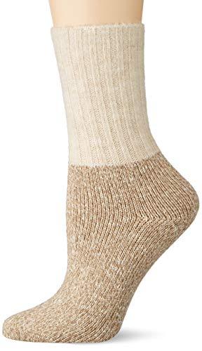ESPRIT Damen Winter Boot Socken, beige (middle beige 4060), 35-38