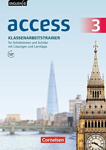 English G Access - Allgemeine Ausgabe und Baden-Württemberg: English G Access - Allgemeine Ausgabe / Baden-Württemberg / Band 3: 7. Schuljahr - ... Lösungen und Lerntipps online