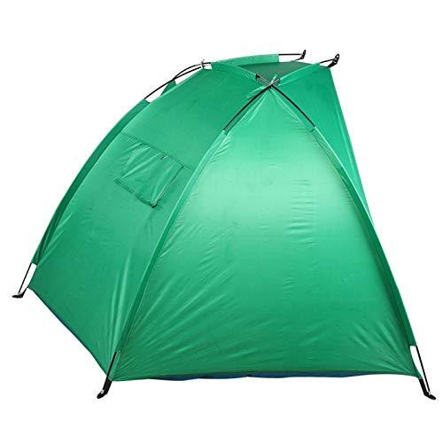 Qqmora Carpa de Pesca Ligera para Acampar Carpa de sombrilla de Playa Liviana práctica Portátil Durable para Acampar de Pesca
