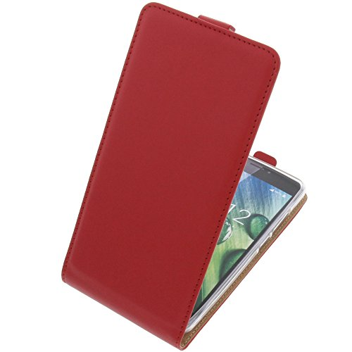 foto-kontor Tasche für Acer Liquid Z6 Plus Smartphone Flipstyle Schutz Hülle rot