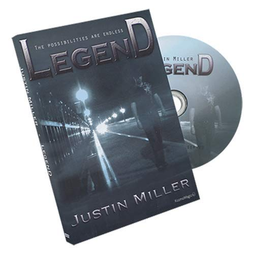 SOLOMAGIA Legend (DVD and Gimmicks) by Justin Miller and Kozmomagic - DVD - DVD and Didactics - Trucos Magia y la Magia
