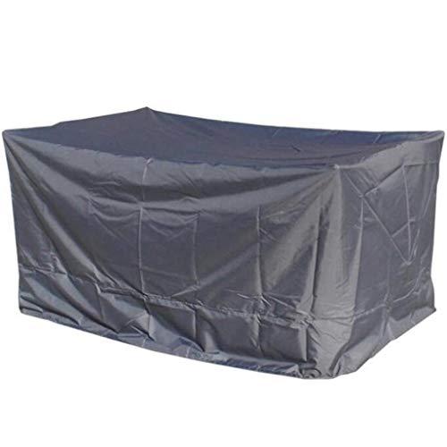 BAOFI 205x104x71cm Cubierta de Muebles de Exterior, Funda Muebles Patio Impermeable, manteles Patio Oxford Tejido Exterior de manteles Robusta Patio,Gray