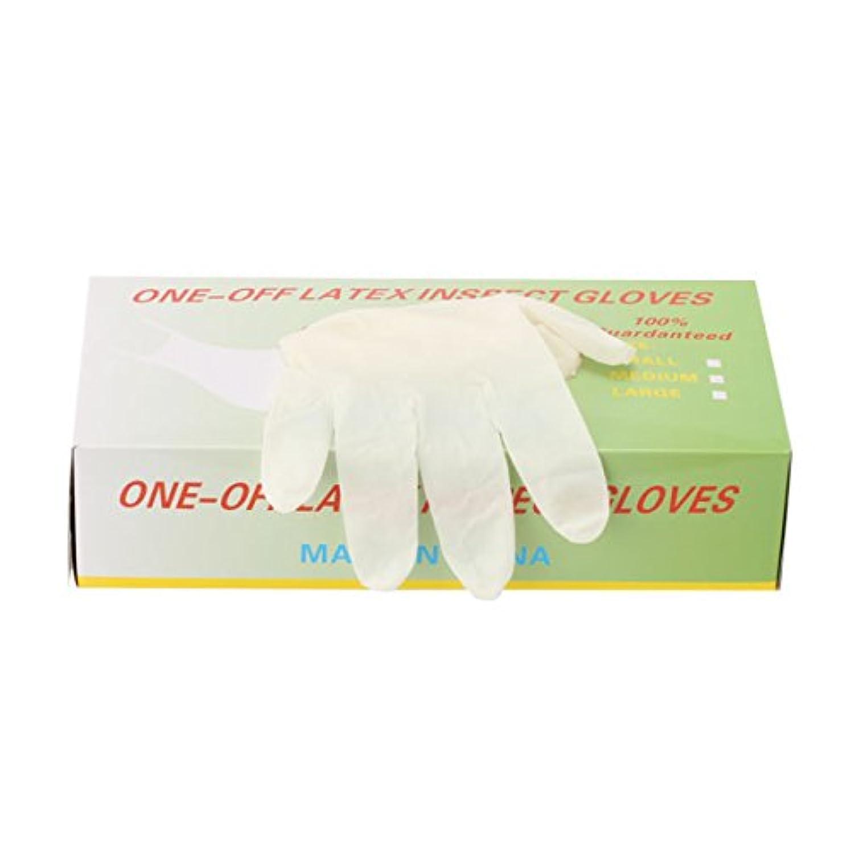深さフェデレーションモディッシュパウダーフリー使い捨てゴム手袋 100枚入 全3種 Lサイズ [ 手袋 グローブ ゴム手袋 使い捨て手袋 使い捨てグローブ ]