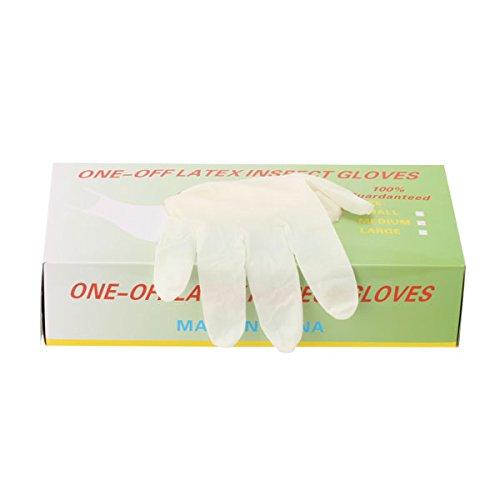 パウダーフリー使い捨てゴム手袋 100枚入 全3種 Mサイズ [ 手袋 グローブ ゴム手袋 使い捨て手袋 使い捨てグローブ ]