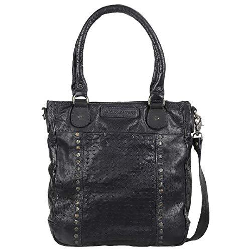 Taschendieb Wien Handtasche Leder 36 cm