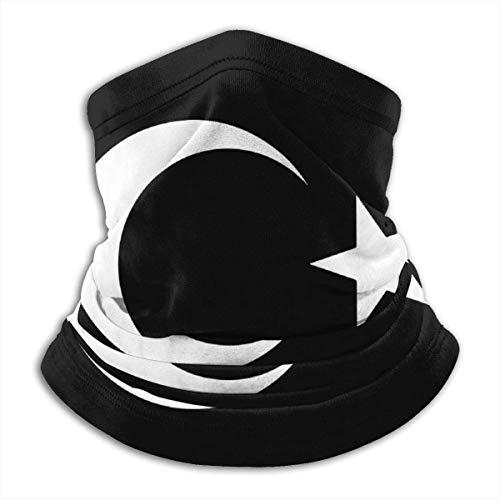 NA Türkei Flagge Symbol Männer & Frauen Gesichtsmaske Halstuch Kopf Wrap für Motorrad