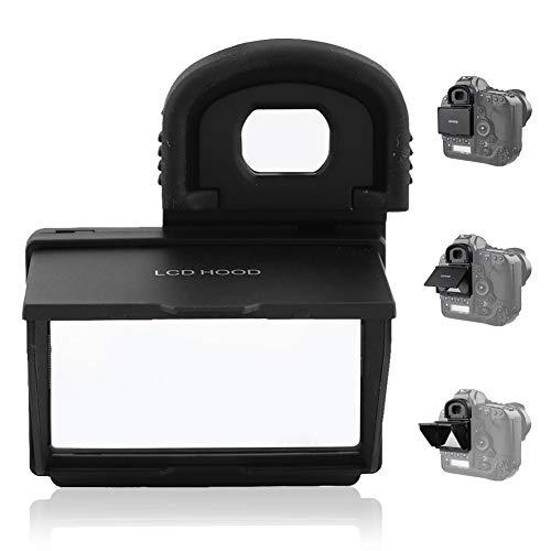 LCD Pop-up Hood Sun Shield Scherm Beschermende Cover Opvouwbare Camera Monitor Protector voor Canon IDX/IDX2 DSLR Camera