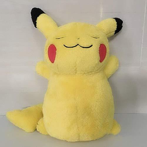 YUTRD SimpaticoPokemonCartone Animato Pikachu Peluche 38 Cm, Morbido Peluche Bambola Animale Giocattoli Cuscino Regali di Compleanno per Bambini