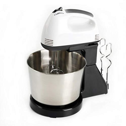 2.0L Grote Capaciteit Handheld Melkopschuimers, Huishoudelijke Handheld Desktop Eggbeater (Color : Black)