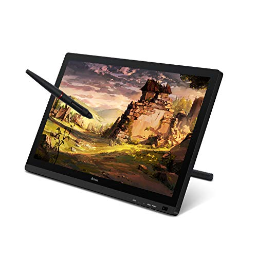 Artisul D22S 21.5' Graphic Drawing Tablet with Screen 8192 Levels Battery-Free Stylus 76% Adobe RGB 1920x1080 FHD Pen Display with Adjustable Stand-2019 Version