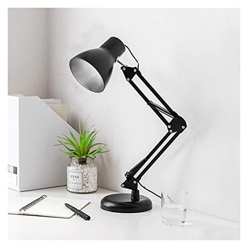 Lámpara de Escritorio Lámpara de Escritorio LED de Enchufe Lámpara de Oficina Regulable con Escala con 3 Modos de iluminación LED Luz de Lectura con Clip, Interruptor de botón Lámpara de Lectura