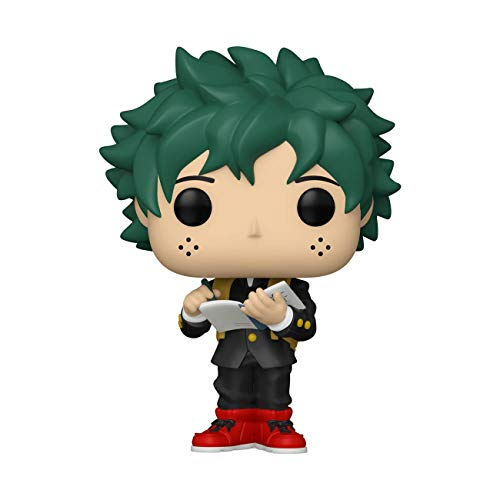 Funko- Pop Animation: My Hero Academia-Deku (Middle School Uniform) Figura Coleccionable, Multicolor (48476)