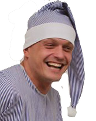 Wee Willy Winkie Bonnet de nuit long pour déguisement