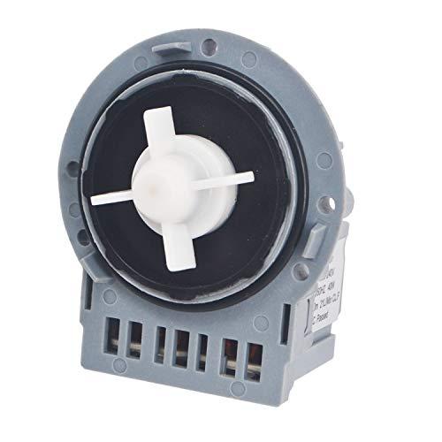 Ablaufpumpe Laugenpumpe Pumpe kompatibel mit Askoll M231 XP 296002 296003 23.100.30, M224 RC0233 Ariston Indesit C00144997 Waschmaschine 40 Watt