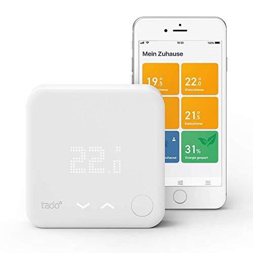 tado° Slimme Thermostaat Starterskit V3+ - Intelligente verwarmingsaansturing, eenvoudige doe-het-zelf installatie, Designed in Germany