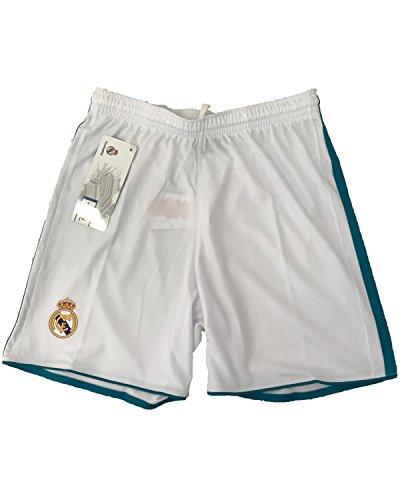 Pantalone Real Madrid Pantaloncini Replica Autorizzata Ufficiale Bambino Adulto 2017-2018, 2 Anni