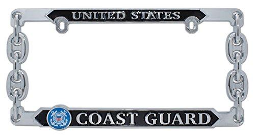 Elektroplate United States Coast Guard 3D License Plate Frame