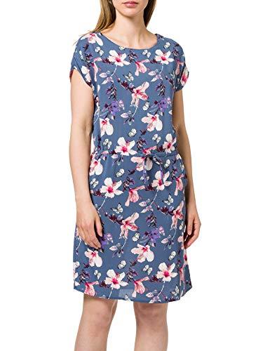 Only Onlnova Life Connie Bali Dress AOP WVN 3 Vestido, Indigo Vintage, 36 para Mujer