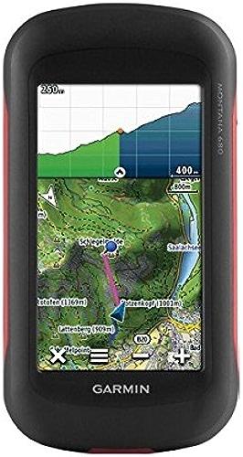 Garmin - Montana 680 - GPS portable multi-activités (Randonnée, Auto, Moto, Quad et Marine) - Grand écran tactile 4'' et appareil photo 8Mp