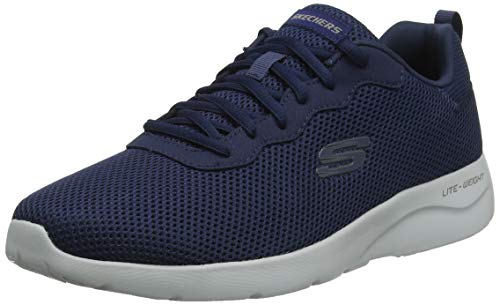 Skechers Men's DYNAMIGHT 2.0- RAYHILL Trainers, Blue (Navy Nvy), 8 (42 EU)