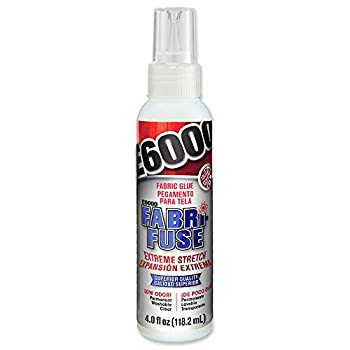 E6000 565004 Fabri-Fuse Adhesive - 4 fl oz Shelf Bottle