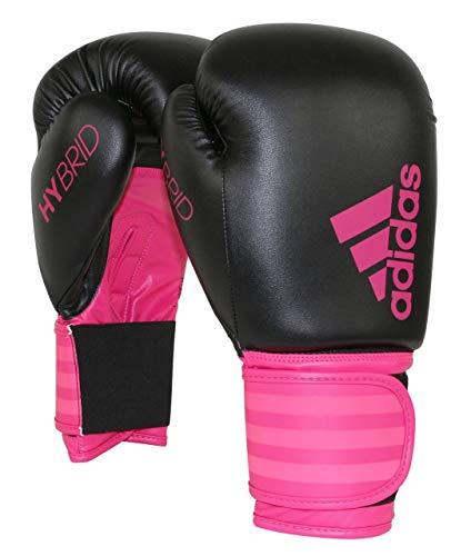 Didas Hybrid 100 Damen-Boxhandschuh, Pink/Schwarz, 284 g