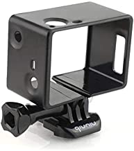 Frame Mount Housing Case for GoPro HERO4, HERO3 and HERO3+ with Bacpac Accessories - Black