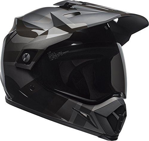 Bell MX-9 Adventure MIPS Dirt Helmet (Marauder Matte/Gloss Blackout - Large)