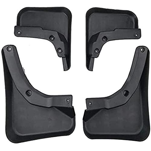 ZHFF 4 Pcs Coche ABS Salpicaduras Guardabarros, para Mercedes-Benz GLK Auto ProteccióN Cubierta Delantero Trasero Mudguards Stylling Accesorios