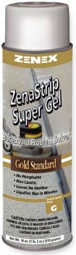 Price reduction Zenex ZenaStrip Super Gel Gold Directly managed store Strip Baseboard Standard Cleaner
