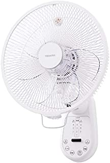 東芝 【扇風機】壁掛け扇TOSHIBA F-AWX80-W