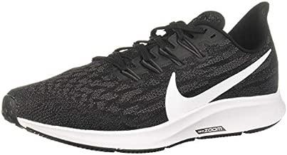 Nike Air Zoom Pegasus 36 Women's Running Shoe Black/White-Thunder Grey Size 9.0